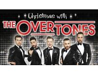 Christmas with the Overtones tickets x 2
