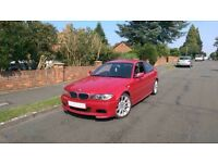 BMW e46 facelift 320cd 2005 manual Imola red