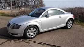 Audi TT automatic silver 1.8