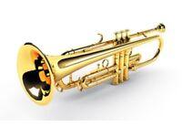 Cornet/trumpet/tenor/flugelhorn/baritone/euphonium lessons.
