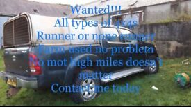 Wanted!!! 4x4s