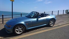 BMW Z3 2.8 AUTO With wide Body RARE 1 Year MOT PLUS 2 Key