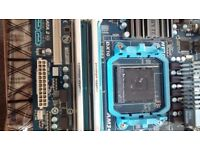 Gigabyte 78LMT-usb3 mother board + 8gb ddr3 mushkin enhanced ram AMD , AM3+ socket