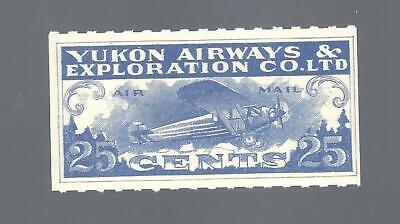 Canada SEMI-OFFICIAL AIR YUKON AIRWAYS & EXPLORATIONS SCOTT CL42 MNH (BS19988)