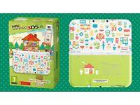 Nintendo 3ds xl - animal crossing happy home designer edition