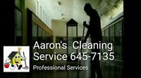 Aaron's Cleaning Service carpet and upholstery cleaning