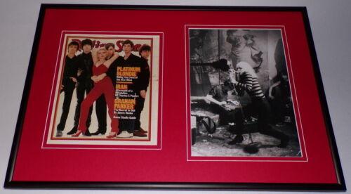 Debbie Harry Blondie Framed 12x18 Photo & Rolling Stone Cover Display