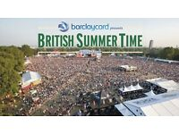 4 x tickets for British Summer Time 30 June - Phil Collins