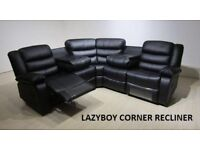 black or brown recliner sofa corner or 3+2 sofas huge savings call now for next week delivery