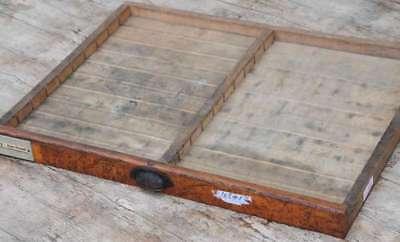 alte Schublade original Druckerei vintage shabby industrie stil design Deko alt