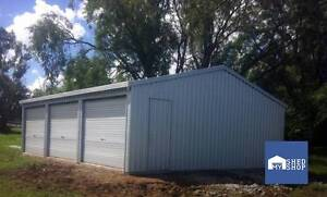 9m x 6m x 2.4m Shed Boonah Ipswich South Preview
