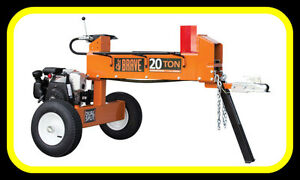 new Brave 20 Ton 2 WAY log splitter, Honda powered, IN STOCK NOW
