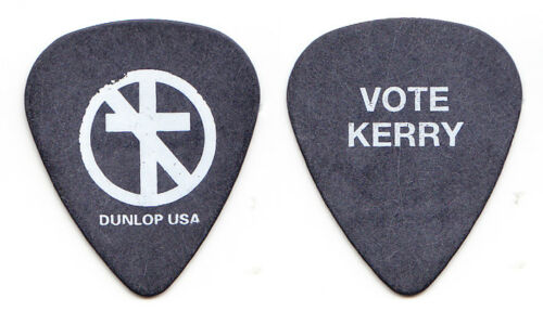 Bad Religion Greg Hetson Vote Kerry Black Guitar Pick - 2004 Tour