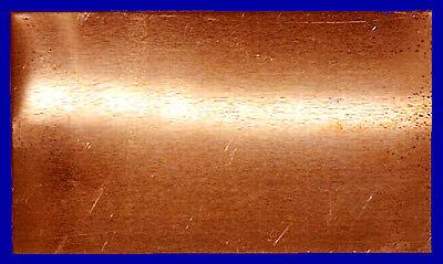 Kupfer Blech, weich glatt formbar, 150x200mm 0,1 mm