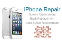 iPhone repair service for iPhone 6, 6 Plus, 6S, 6S Plus, 7 and 7 Plus - WON'T BE BEATEN ON PRICE!