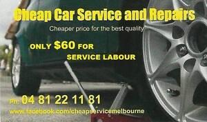 Cheap Car Service & Repairs mobile mechanic Coburg Moreland Area Preview