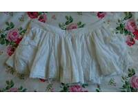 Jack Wills Skirt with pockets, Size 10.