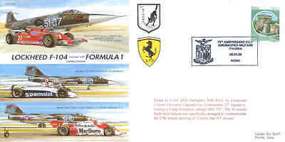 CC38a Formula 1 cars vs ITAF F-104 Jet Aircraft race F1 cover