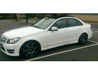 Mercedes C350cdi AMG sport plus, FMSH, Pano roof