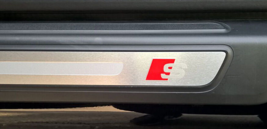 Audi S sticker decals