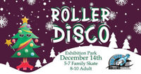 Holiday Roller Disco December 14th!
