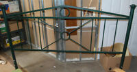 King Size Metal Bed Head board ~ Excellent Condition