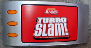 Scrabble Turbo Slam Word Game without box
