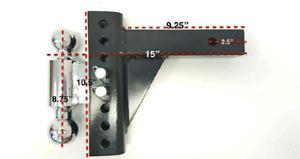 Adjustable hitch