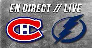 HABS vs TAMPA BAY (Tonight/Ce soir) CHEAP TICKETS