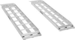 Aluminum Dual Runner Shed Ramps
