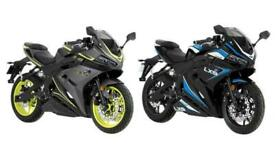 Lexmoto LXS 125 - 125cc Sports CBT Legal Motorbike Euro 5 Both Colours Available