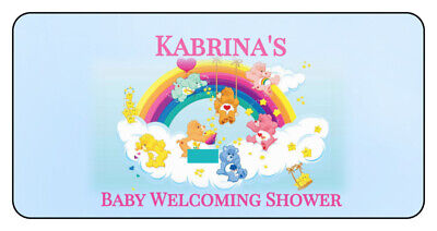 Care Bear Baby Shower (20 Baby Shower Sprinkle Water Bottle Labels 4