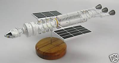 Meta Probe Space 1999 Spacecraft Airplane Desktop Wood Model Big New