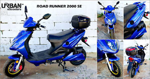 URBAN E-SCOOTER Road Runner 2000 SE - Sport - Now Only $1690