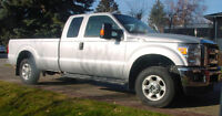 2013 Silver Ford F-250 V8   XLT Pickup Truck Price Reduced