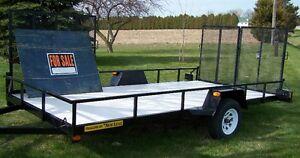 ❋ 14 feet Landscaping Utility Trailer (Like NEW)