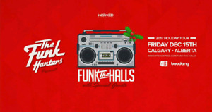 Funk the Hall with Funk Hunters // Palace theatre // Dec 15