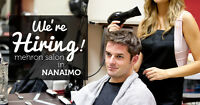 Now Hiring at Mehron Salon (Nanaimo North Town Centre)