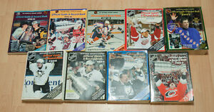 NHL Official Guides & Record Books (1960s - 2010s)