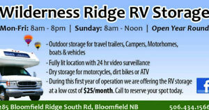 Wilderness Ridge RV Storage