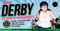 709 Roller Derby: The Vixen's vs. The Neversweets