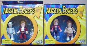 2002 Mezco Mez-Itz  Austin Powers Set series 2