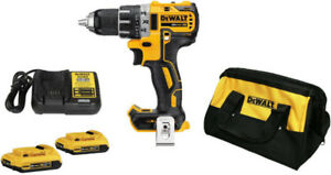 NEW DEWALT DCD791D2 KIT XR 20V Max Brushless Compact Drill