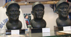 Babe Ruth, Lou Gehrig & Ty Cobb Sculptured  Sports Busts