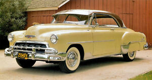 Looking for Misc. Trims for 1952 Bel Air