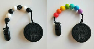 Handmade Baby Teethers/Pacifier Clips & Necklaces