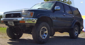 1995 Toyota 4Runner Sequoia edition