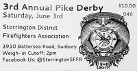 Annual Pike Fishing Derby