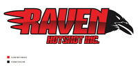 Raven Hotshot inc---FLAT DECKS (Tarping Available) 403 305 2016