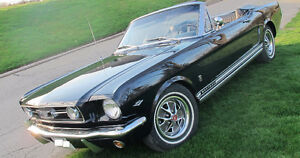 1966 Mustang GT Convertible Very Good Condition